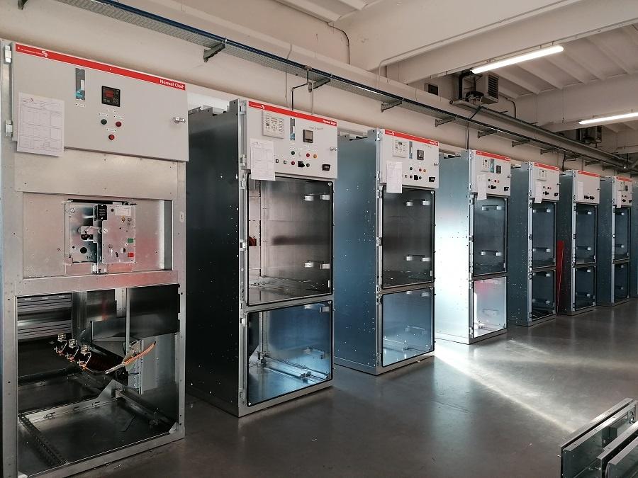 Ammodernamento e ampliamento sottostazione elettrica - celle di media tensione MT