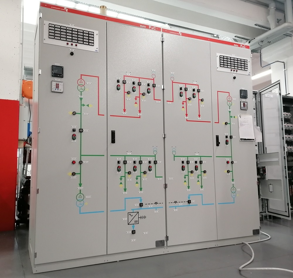 Modernization and extension of MV electrical substation - LV switchboard panels