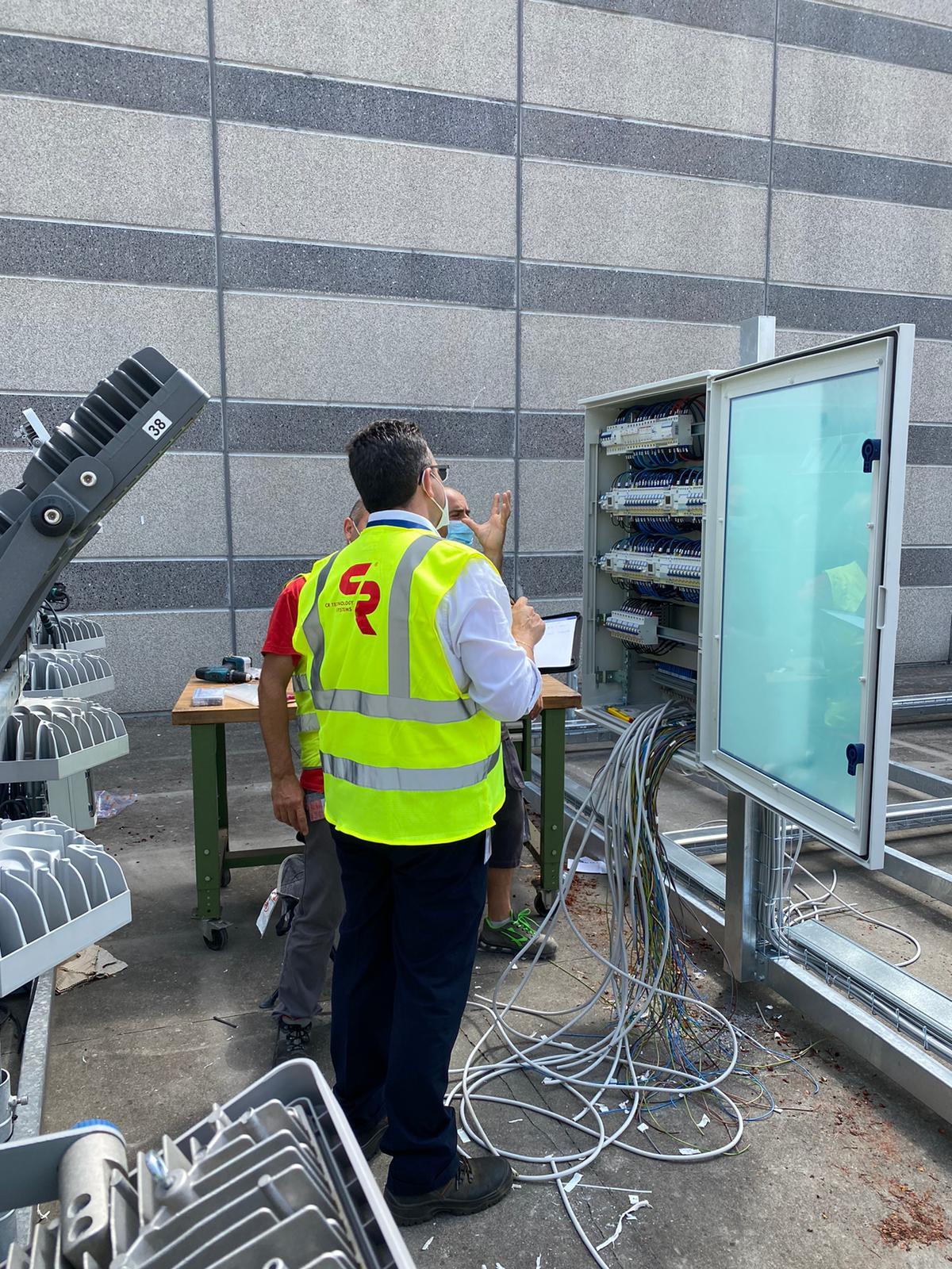Maintenance at Gewiss headquarters Bergamo Calcinate