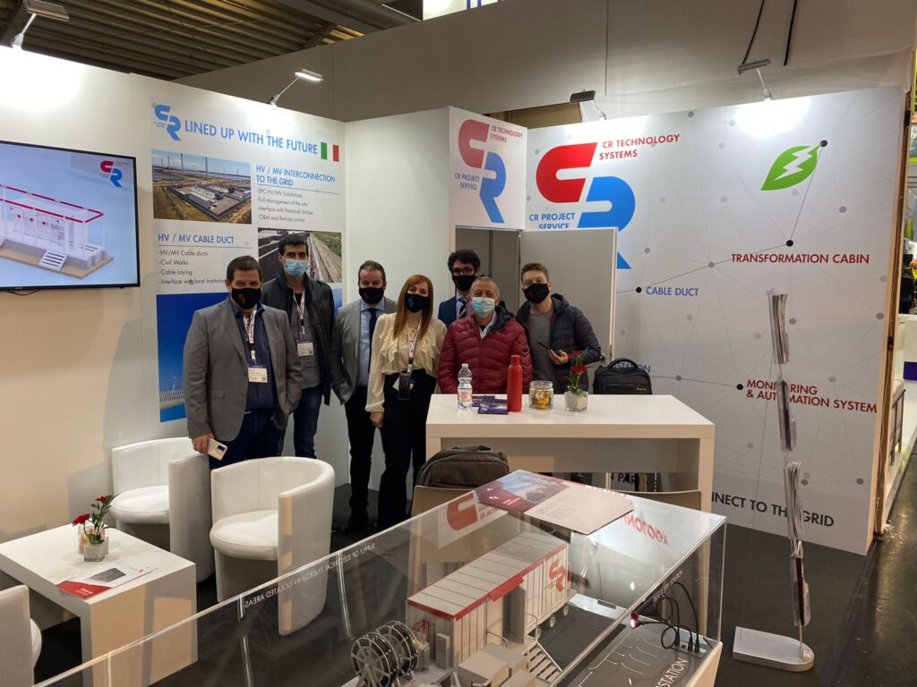 C.R. Technology Systems and C.R. Project Service Teams at Empower Europe Exhibition 2021